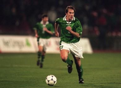 McAteer won 52 caps for Ireland.