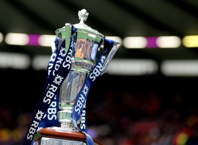Who'll be holding this aloft on Saturday 19 March?