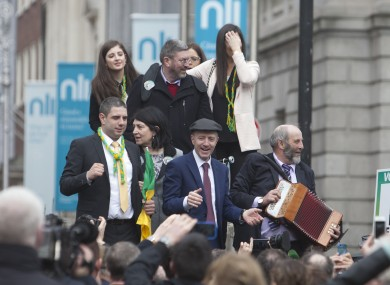 An impromptu Healy-Rae rally outside the Dáil was among the highlights on day one.