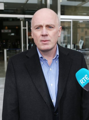 Drumm outside court today