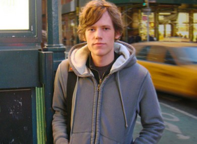 The founder of 4chan Christopher Poole.