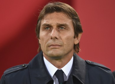 Conte has been in the job since 2014.