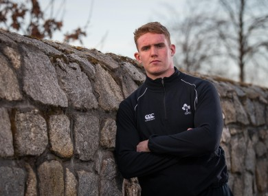Ireland U20s forward Cillian Gallagher.