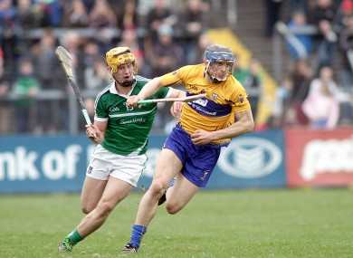 David McInerney was man of the match against Limerick but will miss Clare's League quarter-final with Tipperary.