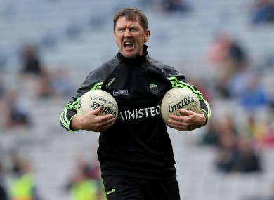 Kerry U21 football manager Jack O'Connor.