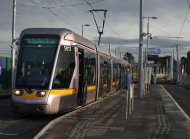 minister says luas plan for st patrick 39 s day buses is an 39 exceptional measure 39. Black Bedroom Furniture Sets. Home Design Ideas
