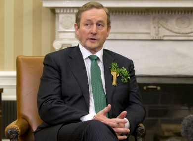 The Taoiseach will be going to Washington, but just for a day.