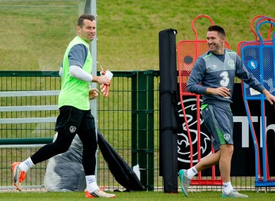 Given and Keane (file photo).