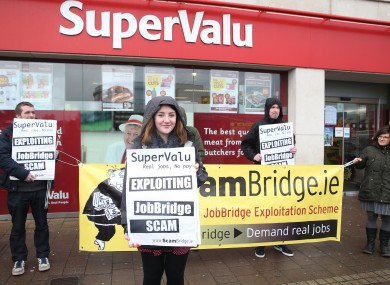 SuperValu is one of the employers found to be a heavy user of JobBridge.