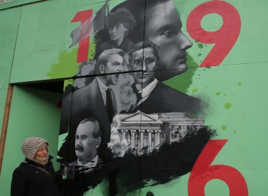 It 39 s an aberration a memorial to british soldiers for Easter rising mural