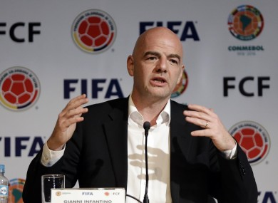 Gianni Infantino was appointed as Sepp Blatter's successor.