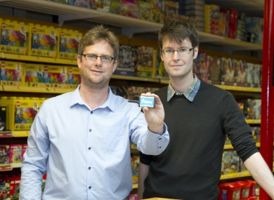 Pointy co-founders Charles Bibby (left)  and Mark Cummins.