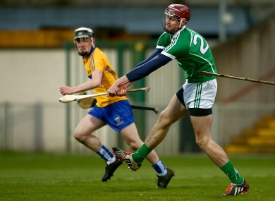 Josh Ryan fired home a goal for Limerick tonight.