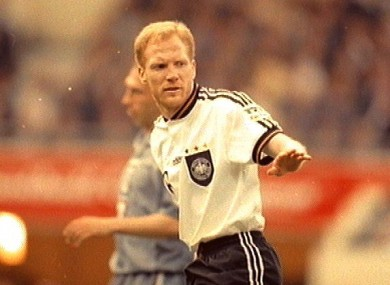 Sammer was an integral part of Germany's Euro '96 win in England.