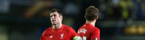 Last-minute goal dents Liverpool's Europa League hopes
