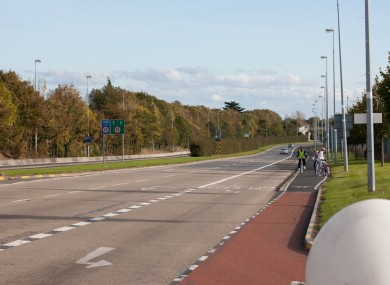 The N11 near Cabinteely where one of the women died. (File photo)