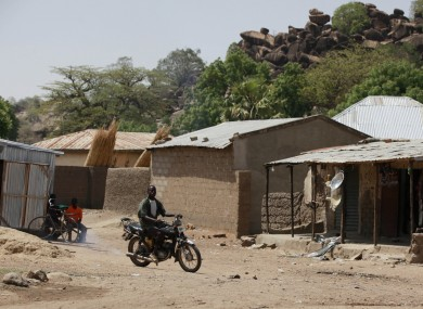 A file photo of the town of Chibok.