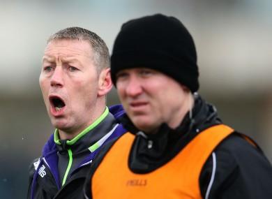 Kerry boss Ciaran Carey (left).