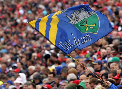 General view of a Tipperary flag (file pic).