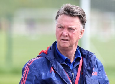 Van Gaal's future at United has been a source of constant speculation this season.