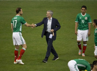 Jose Mourinho was managing the Fifa Legends against the Mexican All-Star Team ahead of the 66th Fifa Congress.