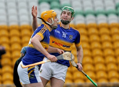 Tipperary forwards Noel McGrath (13) and Seamus Callanan are central to Tipperary's summer hopes.