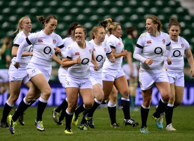 England's women's rugby players were paid to play for the first time following their World Cup success in 2014.