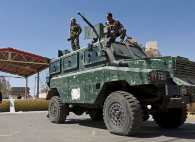 File photo of Yemeni soldiers