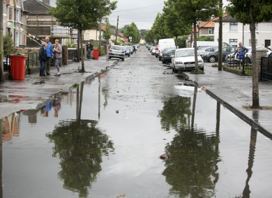 Flash flooding in Dublin earlier this week