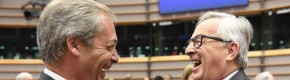 """""""Why are you here?"""" - An EU chief wasn't impressed with Nigel Farage today"""