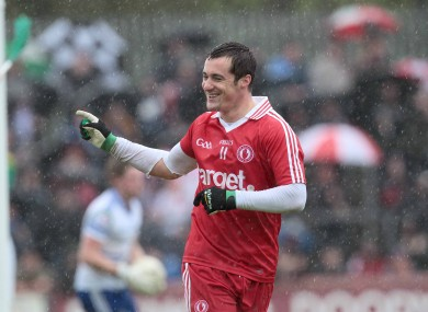 Brian McGuigan celebrates