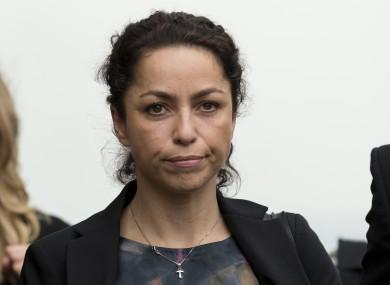 Former Chelsea team doctor Eva Carneiro arrives at the Croydon Employment Tribunal.