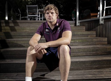 Jordi Murphy is relishing a Test against the Springboks.