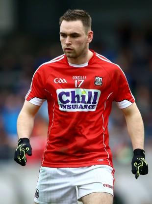 Kieran Histon hit the net for Cork today.