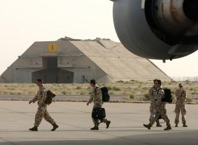 File photo of Australian troops.