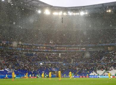 The Stade de Lyon tonight.