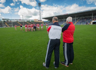 Cork now head to the qualifiers after yesterday's loss.