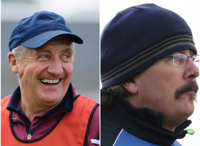 Westmeath boss Michael Ryan and Laois manager Seamus Plunkett take their teams in action this weekend.