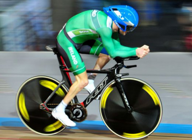Eoghan Clifford on his way to gold.