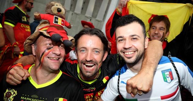 As it happened: Belgium v Italy, Euro 2016