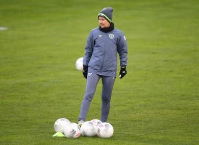 Ireland coach Sue Ronan.