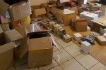 Garda raid yields boxes of fakes DVDs and cosmetics valued at �70,000