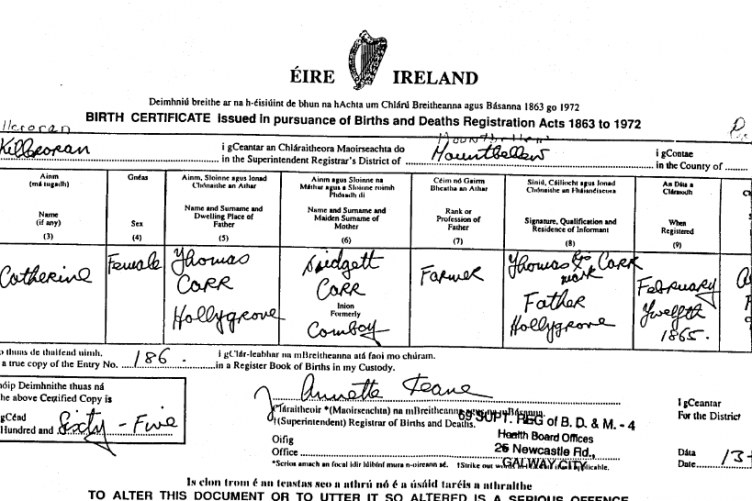 80 Rise In Applications For Irish Birth Certificates From Uk Since