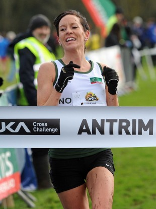 Connolly in cross-country action back in 2012 (file photo).