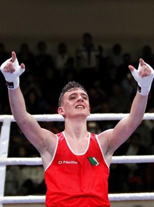 Brendan Irvine will be hoping he's celebrating again in Rio.