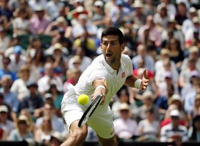 Novak Djokovic has suffered a shock defeat at Wimbledon.