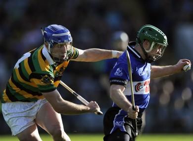 Glen Rovers Patrick Horgan and Sarsfields Daniel Kearney were in opposition yesterday.