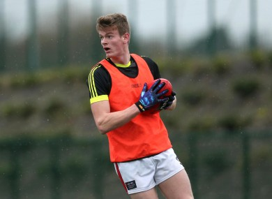 Joyce at the AFL Europe Talent Combine Trials in DCU last year.