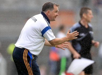 Clare hurling manager Davy Fitzgerald.