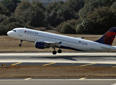 File photo of a Delta Airlines Airbus A320.